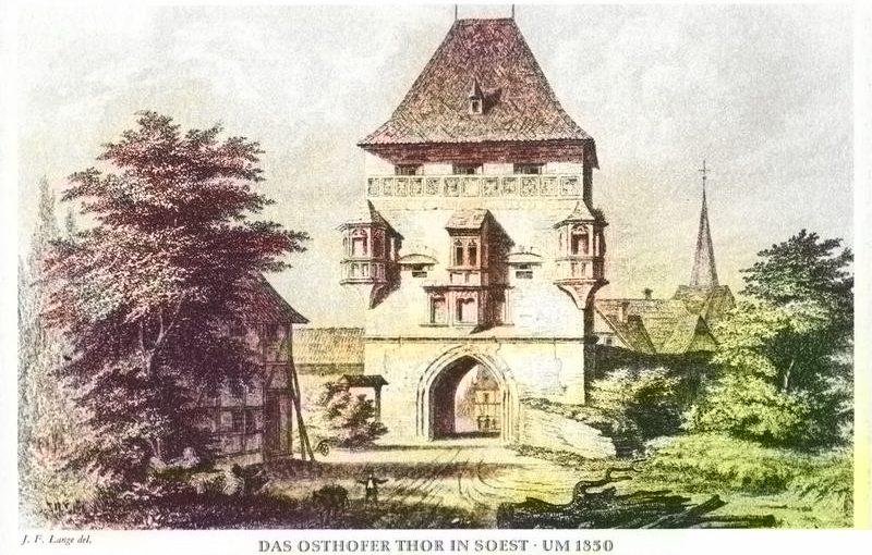 Die Soester Stadttore – Vorburgen, Ballast, Auftaktplätze